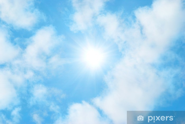 Vinilo Pixerstick Las nubes y el cielo - Temas