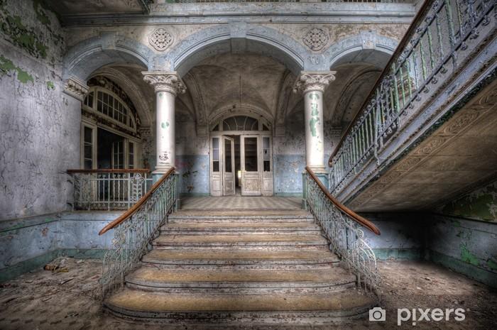 Naklejka Pixerstick Stare schody w Beelitz - Tematy