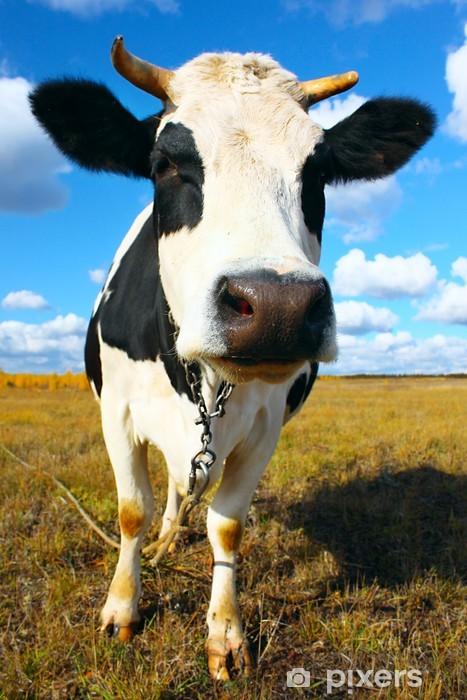 Cow Pixerstick Sticker - Agriculture