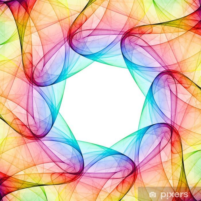 Poster Kaléidoscope de fractale - Abstrait
