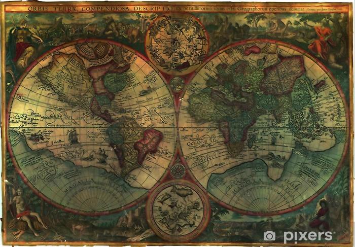 Sticker Pixerstick 1611 carte libre de droits -