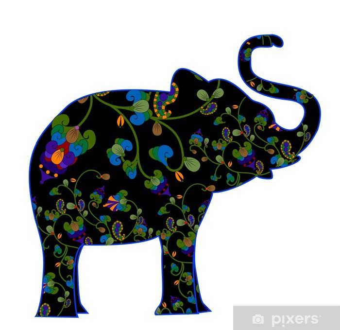 Vinylová fototapeta Vzorované slon - Vinylová fototapeta