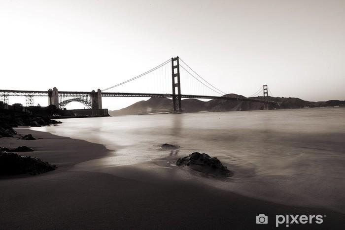 Naklejka Pixerstick Golden Gate Bridge, San Francisco, Kalifornia - Tematy