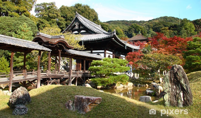 Kodai ji temple a Kyoto (Japon) Vinyl Wall Mural - Asia