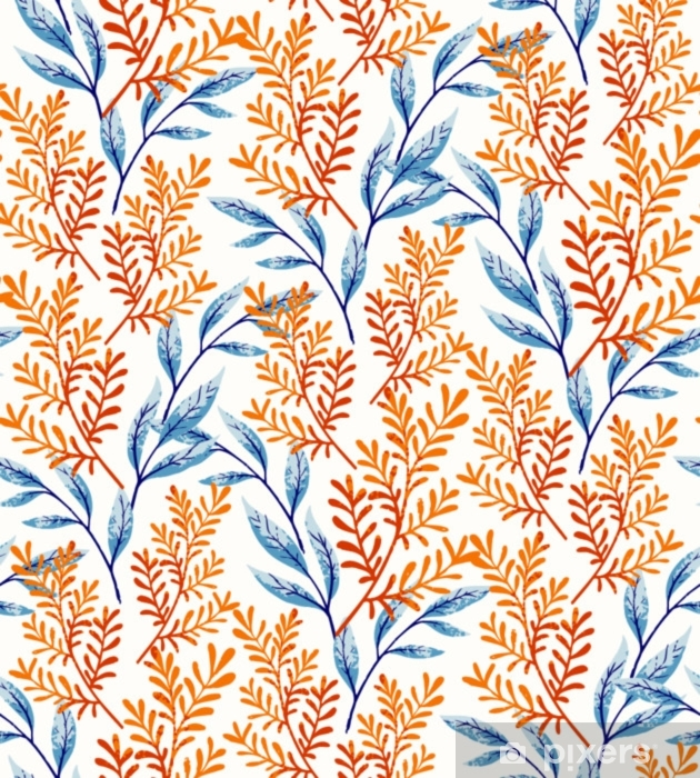 Vinyl-Fototapete Sommer lässt Muster - Pflanzen und Blumen