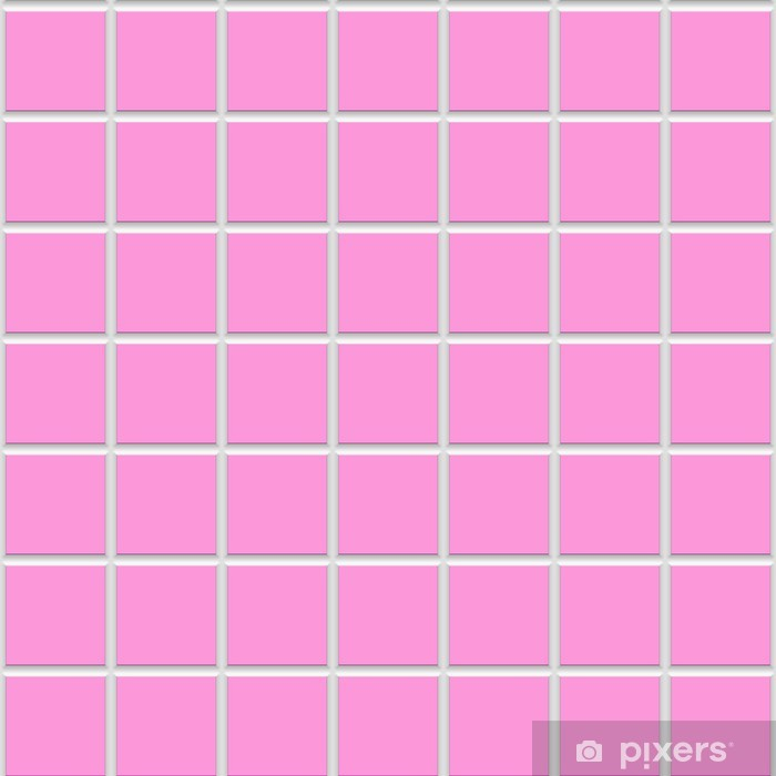 Pink Square Ceramic Tiles Texture Wall