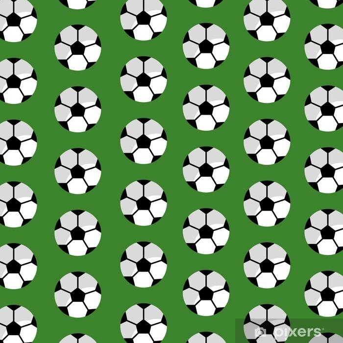 Fototapeta zmywalna Wzór piłka nożna sport klub ilustracja wektorowa - Zasoby graficzne