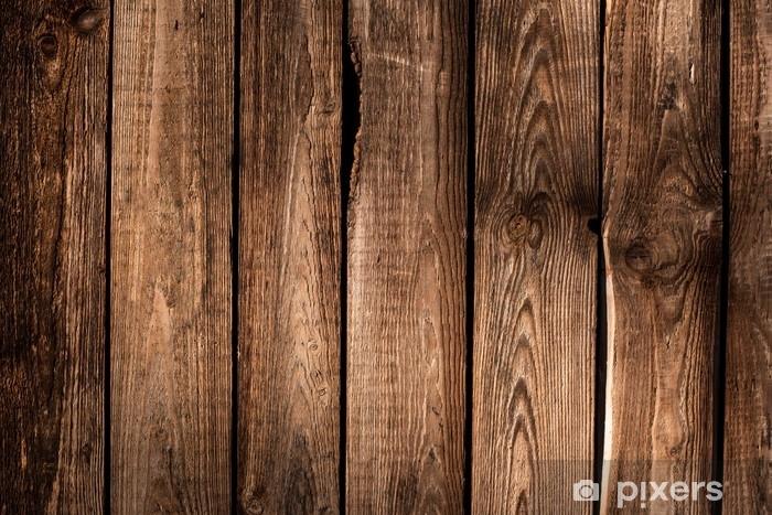 Naklejka Pixerstick Drewniane tło - Zasoby graficzne
