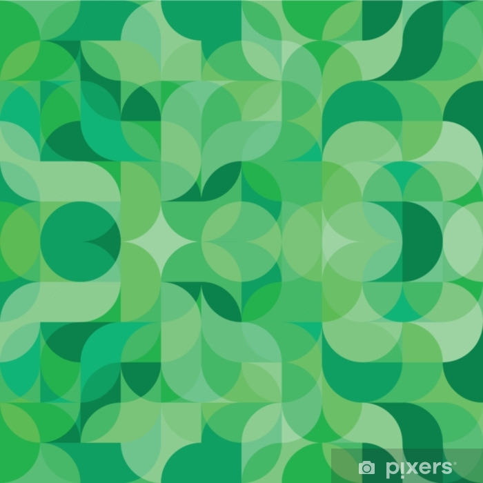 Fototapeta zmywalna Streszczenie wektor kolorowe geometryczne tło fala harmonicznych - Zasoby graficzne