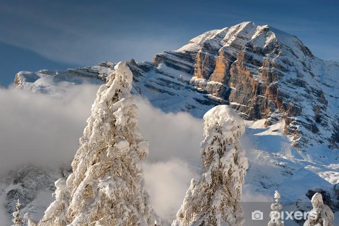 Naklejka Pixerstick Tofane, Cortina d'Ampezzo, Dolomity, Wenecja Euganejska - Wakacje