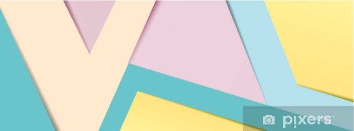 Pixerstick-klistremerke Pastellpapir banner 2 - Grafiske Ressurser
