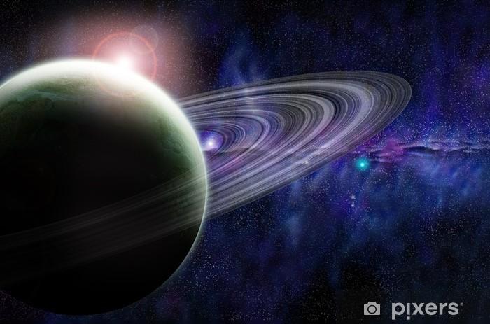 Papier peint vinyle Espace 1 - Planètes