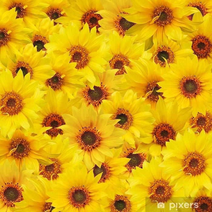sunflowers Pixerstick Sticker - Themes