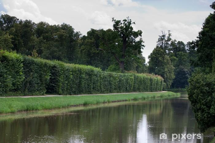 Nálepka Pixerstick Nieborów Palace Lake Park v Polsku - Prázdniny