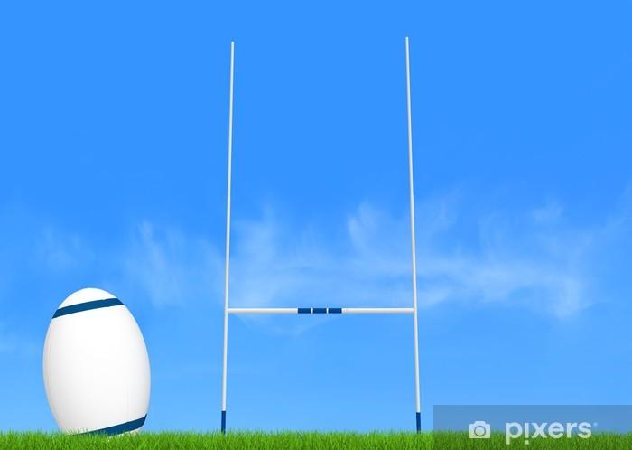 Fototapeta winylowa Rugby konwersji - Rugby
