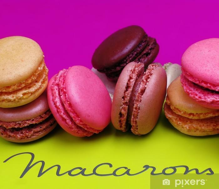 Sticker Pixerstick Macarons - Thèmes