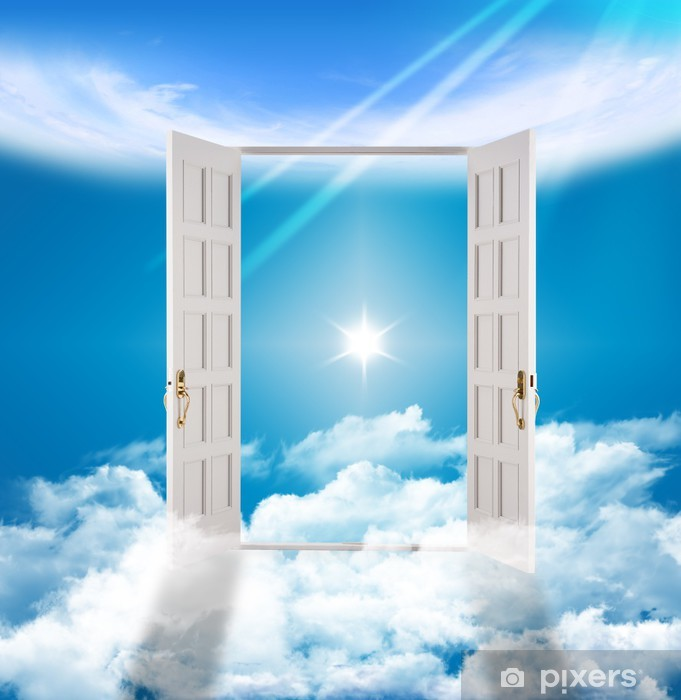 Heaven S Gate Eternity Afterlife Wall Mural Pixers