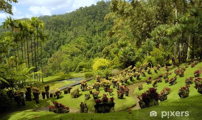 Fototapeta winylowa Jardin de balata - Budynki użyteczności publicznej
