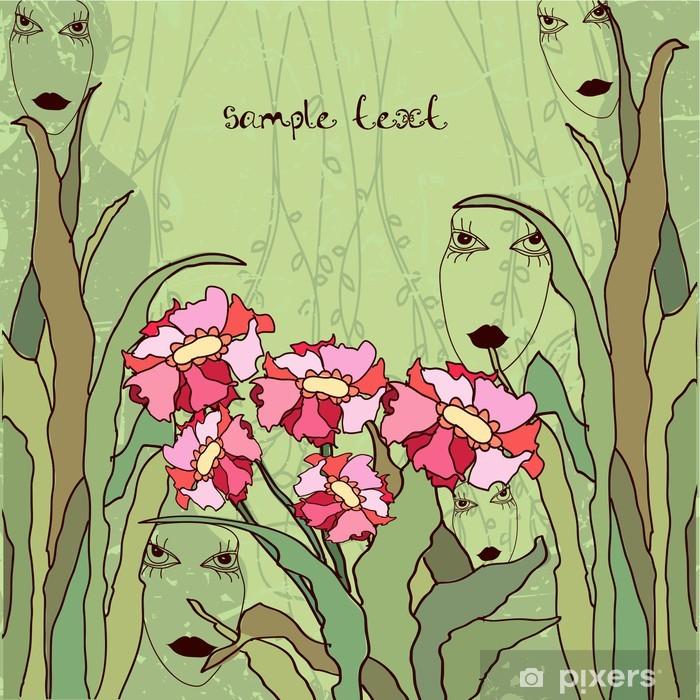 Plakat Kwiaty i wróżki - Kwiaty