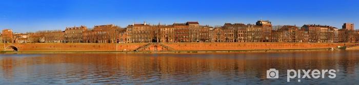 Ommeltu panorama toulouse1 Vinyyli valokuvatapetti - Eurooppa