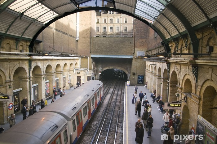 Fototapeta winylowa Underground london - Tematy