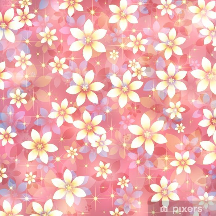 Vinyl-Fototapete 花 の 背景 - Blumen