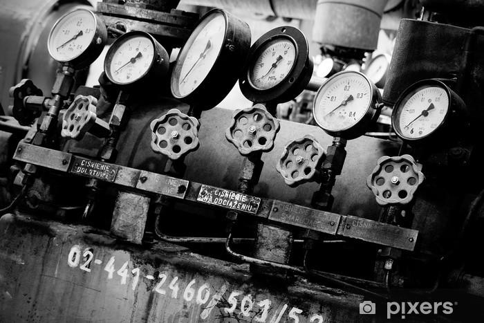 Pixerstick Aufkleber Industrieuhren - Stile