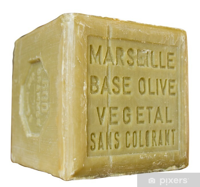 Pixerstick Sticker Marseille zeep - Schoonheid en Lichaamsverzorging