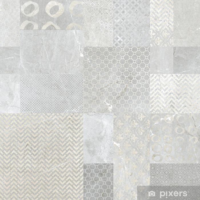 Wall Tiles Texture Mural