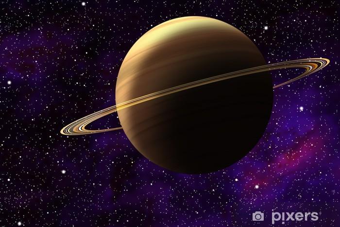 Papier peint vinyle 土星 の イ ラ ス ト - Planètes
