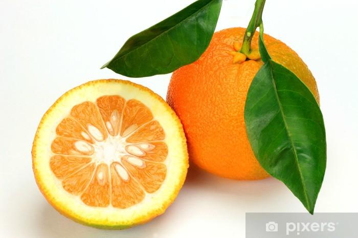 bitter orange Pixerstick Sticker - Fruit