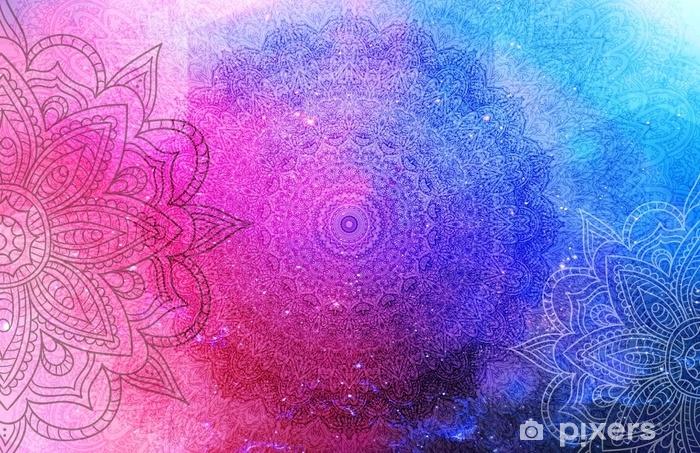 Carta da Parati Lavabile Sfondo di mandala - Religioni e Culture