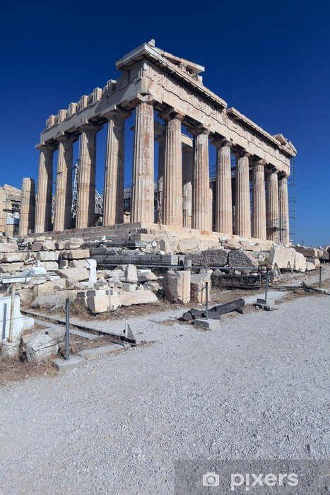 Fotomural Estándar Partenón, la Acrópolis, Atenas, Grecia - Temas