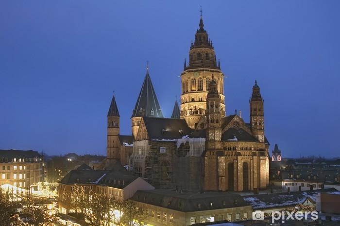 Papier peint vinyle Mainzer Dom - Europe