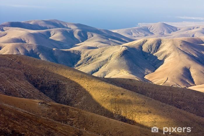 Fototapeta winylowa Fuerteventura - Pustynie