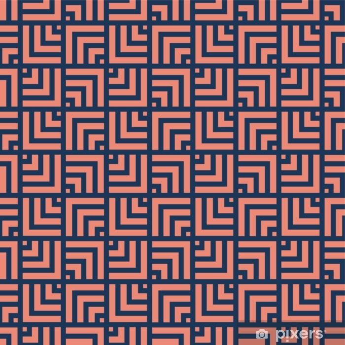 Geometriset viivat saumaton art deco -kuvio. tyylikäs antiikki tausta. Pixerstick tarra - Graafiset Resurssit
