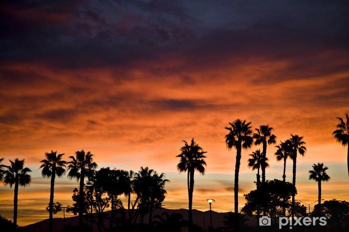 Naklejka Pixerstick Wschód słońca w Coronado - Ameryka