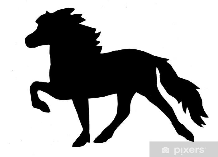 Aufkleber Island Pferd Tölt • Pixers® - Wir leben, um zu