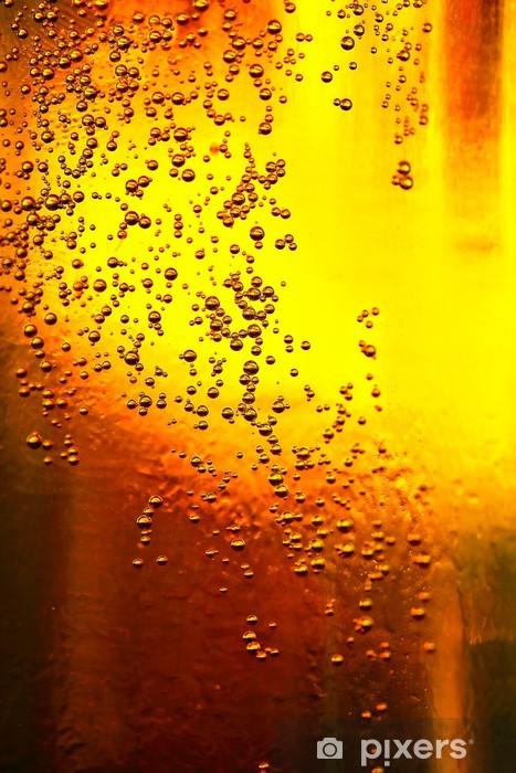 Fototapeta winylowa Piwo z bąbelkami -