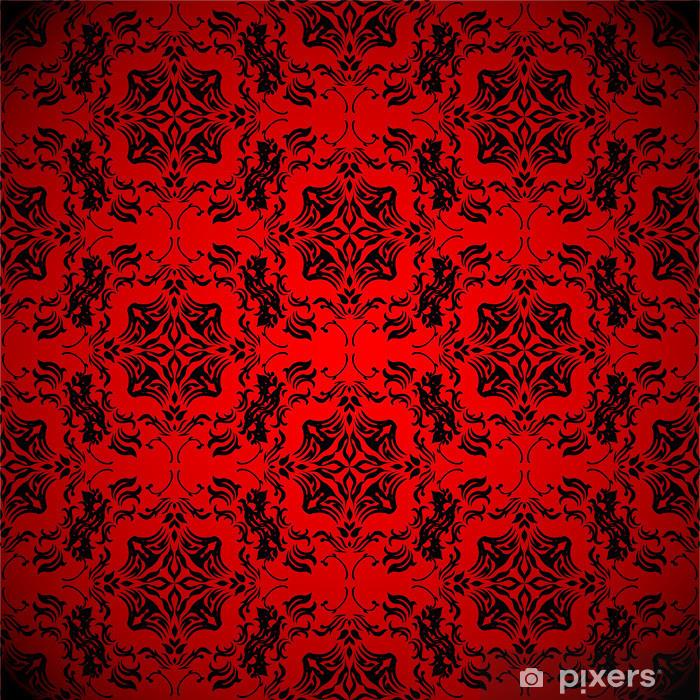 Aufkleber blut rote tapete pixers wir leben um zu for Rote tapete