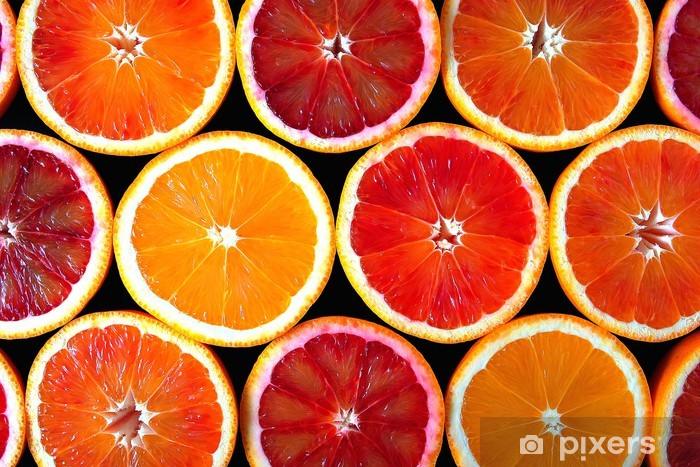Naklejka Pixerstick Pomarańcze -