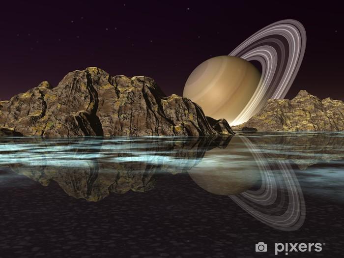 Papier peint vinyle XR-LS4 - Planètes