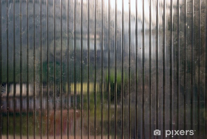 Pixerstick-klistremerke Gjennom polykarbonat - Abstrakt