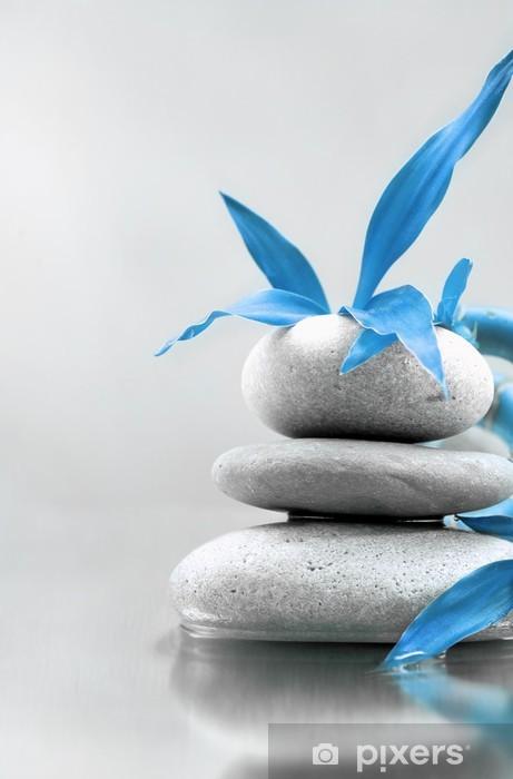 Papier peint vinyle Zen stones - Religion