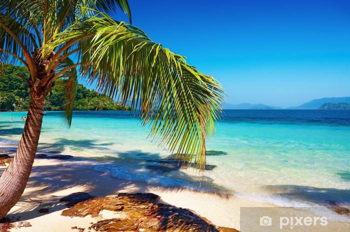 Nálepka Pixerstick Tropická pláž, Wai ostrov, Thajsko - Prázdniny