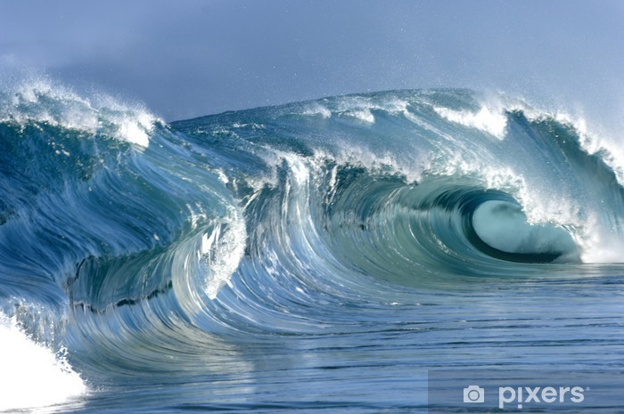 perfect wave Vinyl Wall Mural - Themes