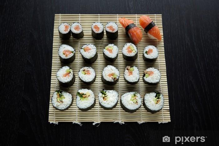 Nálepka Pixerstick Sushi - složení - Sushi
