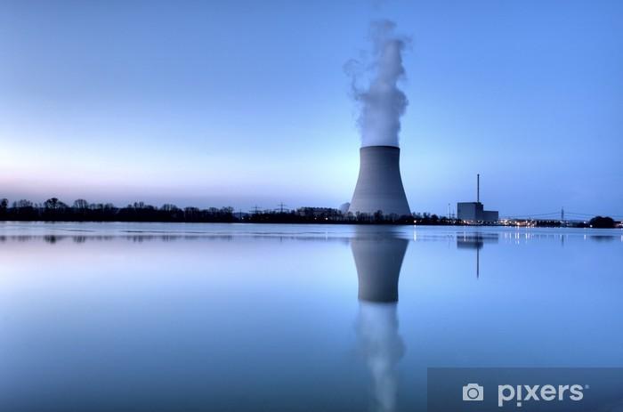 Papier peint vinyle Centrale nucléaire - Infrastructures