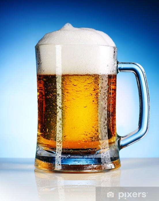 Adesivo Boccale Di Birra Pixers Viviamo Per Il Cambiamento
