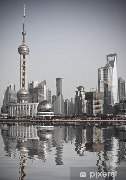 Vinilo Pixerstick Shanghai (China) - Ciudades asiáticas